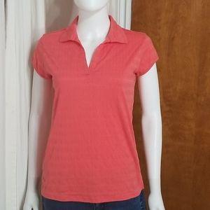 Columbia  Coral Polo Shirt